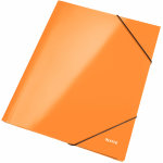 Leitz WOW elastikmappe, orange