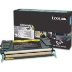 Lexmark C746A1YG tonerpatron Gul 7000 sider