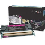Lexmark C746A1MG tonerpatron Rød 7000 sider