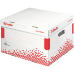 Esselte arkivcontainer speedbox, large, hvid