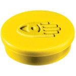 Legamaster magneter, 20 mm, gul, 10 stk