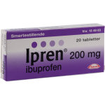 Ipren Tabletter, 200 mg, 20 stk.