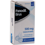 Panodil Brusetabletter, 500 mg, 10 stk.