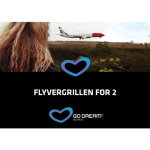 Oplevelsesgave - Flyvergrillen for to