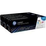 HP 125A/CF373AM lasertoner, 1400s, tri-pack