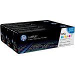 HP 125A/CF373AM lasertoner, 1400s, tri-pack