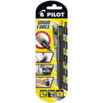 Pilot Down Force Kuglepen, 0,31mm, sort