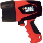 Black & Decker vandtæt LED lygte, 7,2v