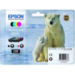 Epson T2636 XL sampak 4 farver