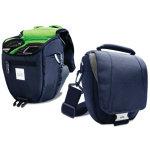 Puro Reflex Kamerataske, Medium, Blå/Grøn