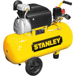 Stanley kompressor, 50 l, 2,5 hk, 10 bar