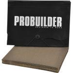 Probuilder sandpapir, 50 stk. ass.