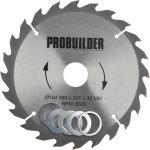 Probuilder klinge, 184x30x2,8 mm, t24