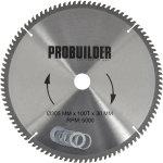 Probuilder klinge, 305x30x3 mm, t100