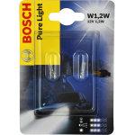 Bosch 1,2w mini halogen/glassokkel lampesæt