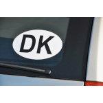 Rawlink DK-skilt, sort/hvid