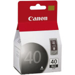 Canon PG-40 blækpatron, sort, blister 195s