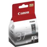 Canon PG-37 blækpatron blisterpakke, sort, 220s