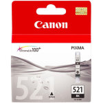 Canon CLI-521BK blækpatron, sort, 9ml