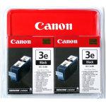 Canon BCI-3EBK blækpatron blister, sort, 2x420s.