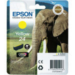 Epson C13T24244012 blækpatron, gul, 360s