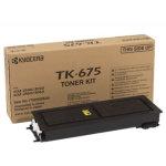 Kyocera TK-675  lasertoner, sort, 20000s