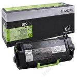 Lexmark 52D2H0E lasertoner, sort, 25000s
