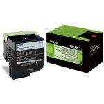 Lexmark 70C2XK0 lasertoner, sort, 8000s