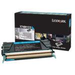 Lexmark X748H3CG lasertoner, blå, 10000s