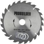 Probuilder rundsavsklinge, 190x30x2,4 mm