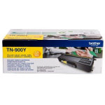 Brother TN900Y lasertoner, gul, 6000 s.