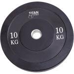 Titan Bumper Plate, 10 kg