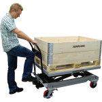 Silverstone mobilt løftebord, 500 kg, 370-1190 mm