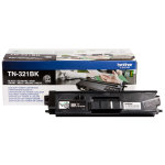 Brother TN321BK lasertoner, sort, 2500 s.