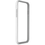Puro iPhone 6/6S Plus Bumper Cover Grå/hvid