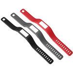 Garmin vívofit® armbånd, small, sort/grå/rød