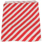 Slikpose, rød med striber