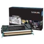 Lexmark C746H3KG lasertoner, sort, 12000s