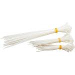 Rawlink kabelstrips, 75 stk. ass, hvide