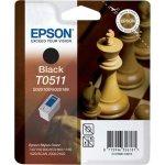 Epson nr.T0511/C13T05114010 blækpatron, sort, 900s