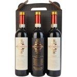 Montagnana Chianti, rødvin, 3 fl. i gaveæske