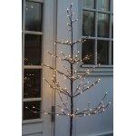 Alex lystræ inkl. rund fod, H 120 cm, 160 LED