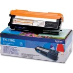 Brother TN328C lasertoner, blå, 6000s