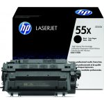 HP nr.55X/CE255X lasertoner, sort, 12500s