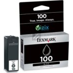 Lexmark nr.100/14N0820E blækpatron, sort, 170s