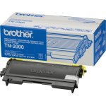 Brother TN2000 lasertoner, sort, 2500s