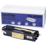 Brother TN6600 lasertoner, sort, 6000s