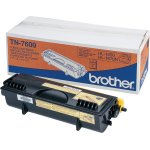 Brother TN7600 lasertoner, sort, 6500s