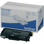 Brother TN4100 lasertoner, sort, 7500s