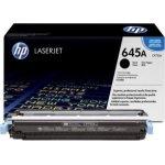 HP 645A/C9730A lasertoner, sort, 13000s
